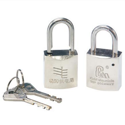 加长铜锁电镀