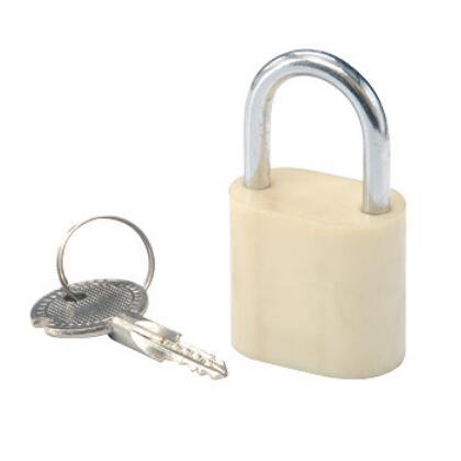 十字塑钢锁
