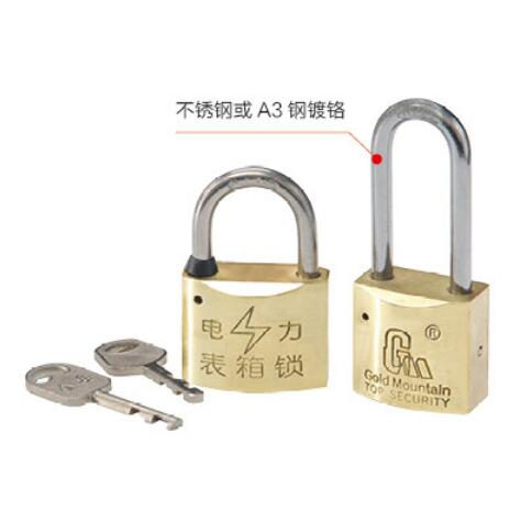 TR叶片铜锁